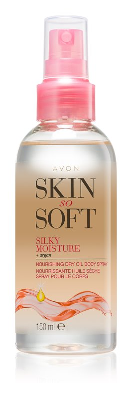 Avon Skin So Soft Argan Oil For Body