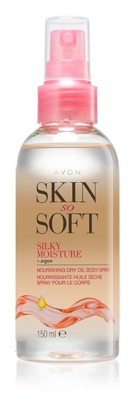 Avon Skin So Soft arganowy olejek do ciała