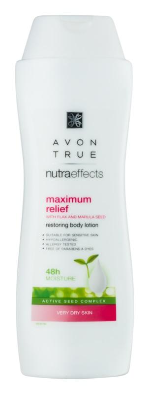 Avon True NutraEffects obnovující tělové mléko