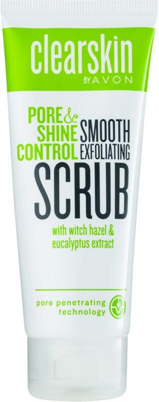 Avon Clearskin  Pore & Shine Control povzbudzujúci peeling