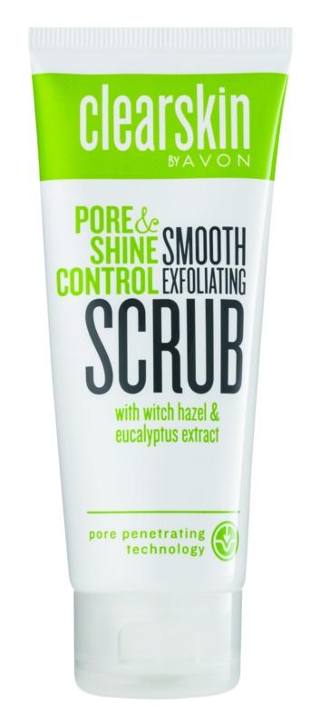 Avon Clearskin  Pore & Shine Control povzbuzující peeling