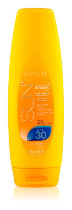 Avon Sun зволожуюче молочко для засмаги SPF 30