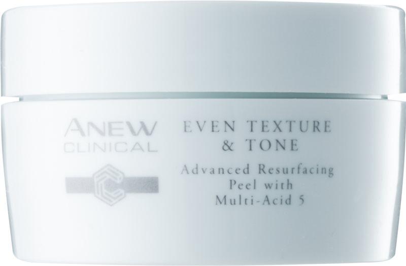 Avon Anew Clinical dischetti esfolianti viso per unificare il tono della pelle