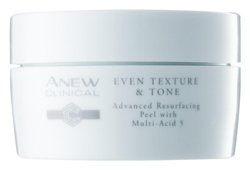 Avon Anew Clinical пілінгові серветки для обличчя для вирівнювання тону шкіри