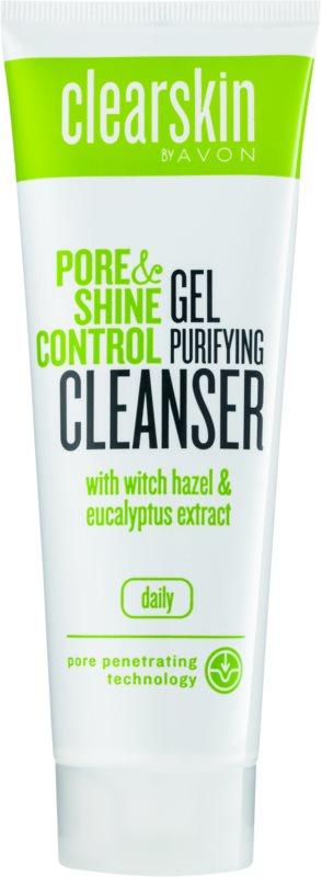 Avon Clearskin  Pore & Shine Control čistiaci a zjemňujúci gél