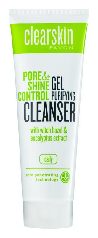 Avon Clearskin  Pore & Shine Control очищуючий та пом'якшуючий гель