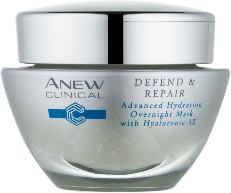 Avon Anew Clinical noćna hidratantna maska s regeneracijskim učinkom