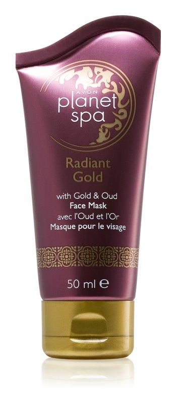Avon Planet Spa Radiant Gold maschera peel-off per rigenerare la superficie della pelle