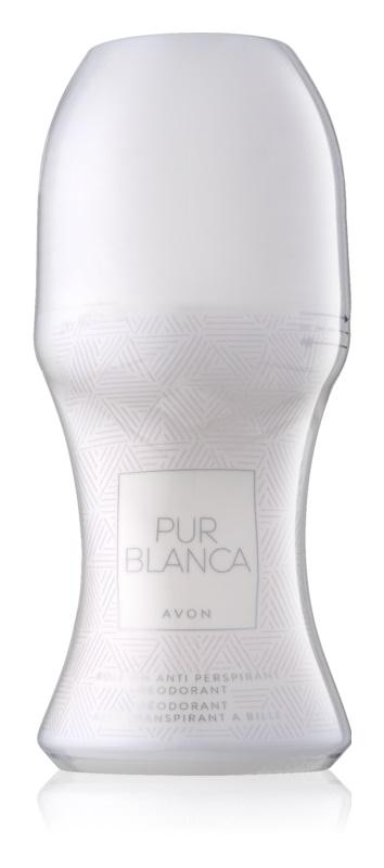 Avon Pur Blanca deodorant roll-on pre ženy 50 ml
