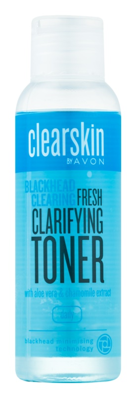 Avon Clearskin  Blackhead Clearing tisztító arcvíz a fekete pontok ellen