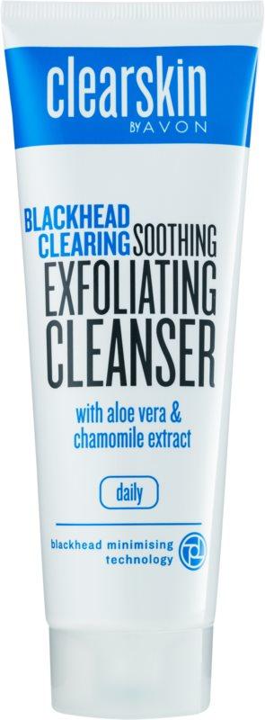 Avon Clearskin  Blackhead Clearing čisticí peelingový gel proti černým tečkám