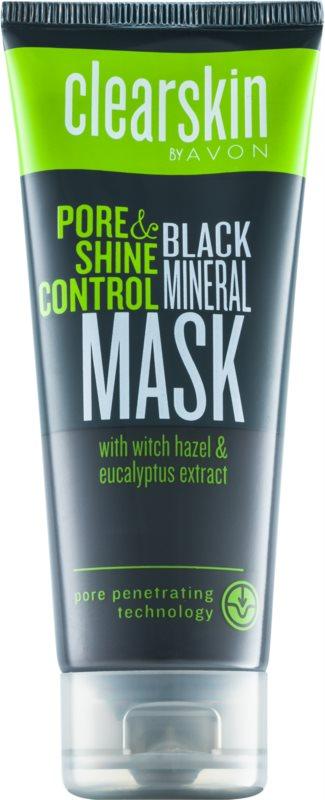Avon Clearskin  Pore & Shine Control hĺbkovo čistiaca maska pre matný vzhľad pleti