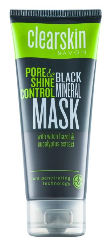 Avon Clearskin  Pore & Shine Control mască de față pentru curățare profundă cu efect matifiant