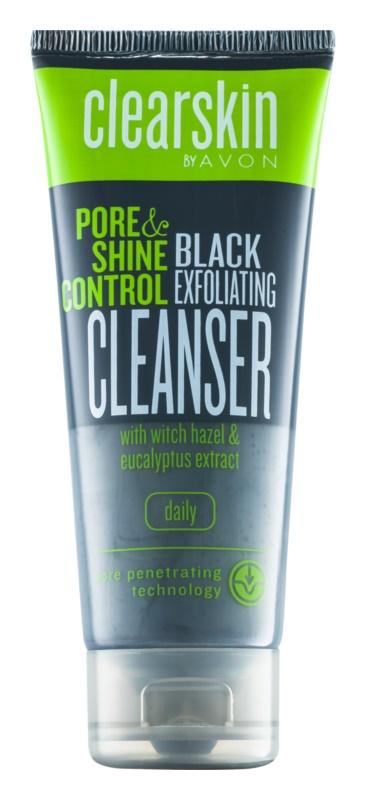 Avon Clearskin  Pore & Shine Control oczyszczający peeling do twarzy