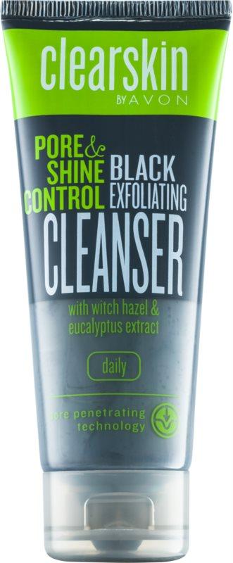Avon Clearskin  Pore & Shine Control очищуючий пілінг для шкіри обличчя