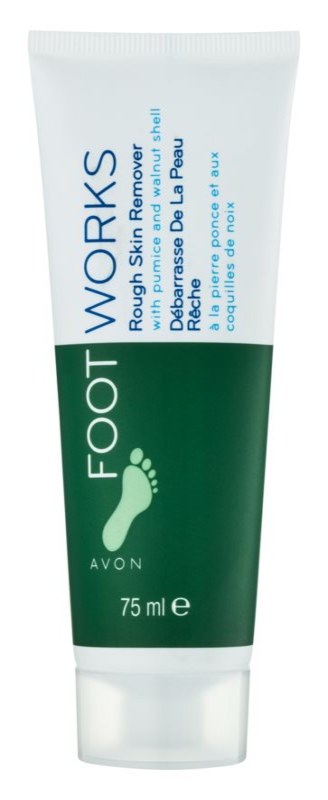 Avon Foot Works Classic peelingový krém na nohy