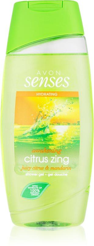 Avon Senses Awakening Citrus Zing Moisturizing Shower Gel