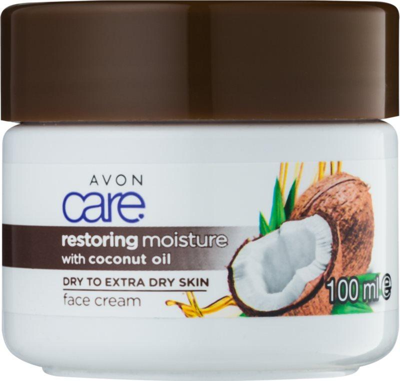 Avon Care hydratačný pleťový krém s kokosovým olejom