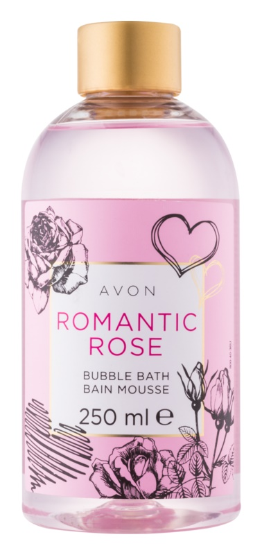 Avon Bubble Bath bain moussant arôme rose