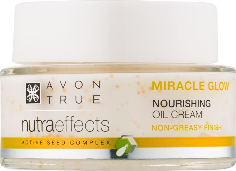 Avon True NutraEffects krema za posvetljevanje z hranilnim učinkom