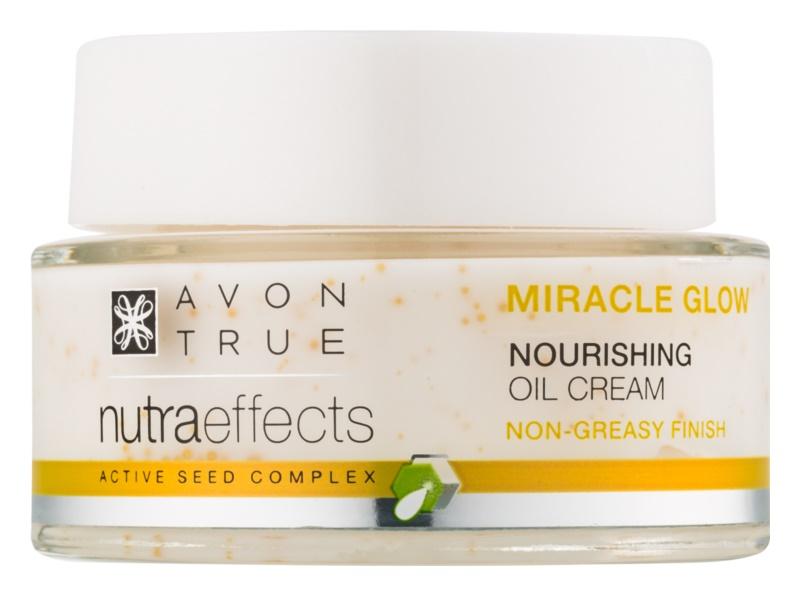Avon True NutraEffects роз'яснюючий крем з поживною ефекту