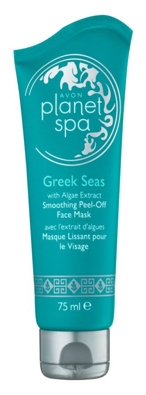 Avon Planet Spa Greek Seas Peel-Off Gezichtsmasker  met Glad makende Effect