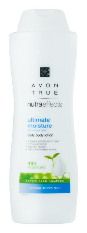 Avon True NutraEffects зволожуюче молочко для тіла