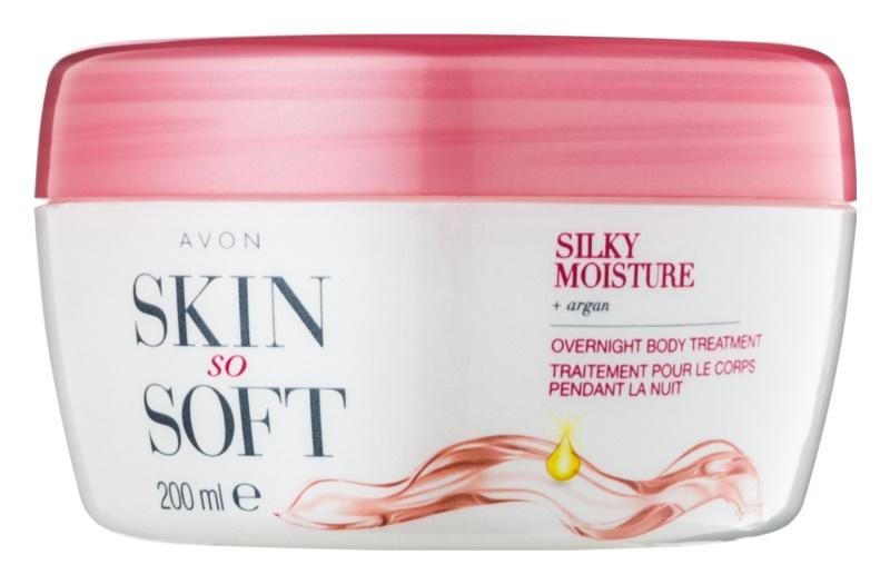 Avon Skin So Soft Silky Moisture crème de nuit pour le corps