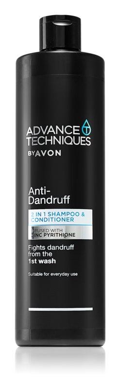 Avon Advance Techniques Anti-Dandruff Shampoo en Conditioner 2in1  tegen Roos