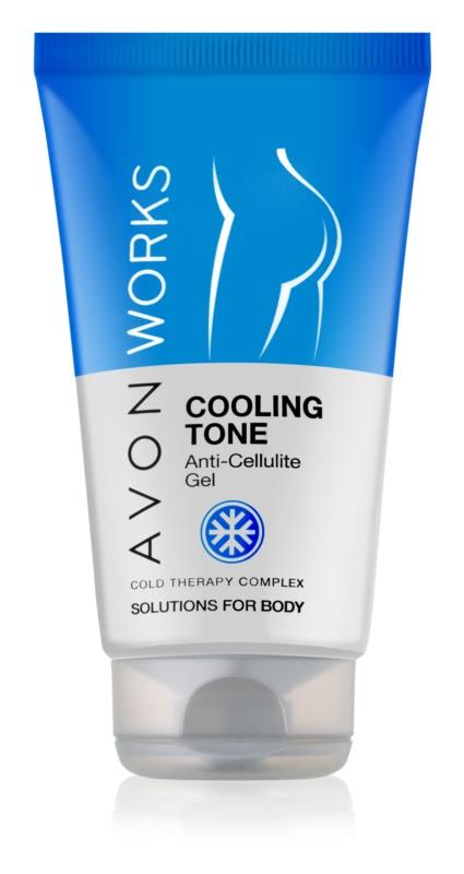 Avon Works gel anti-cellulite rafraîchissant