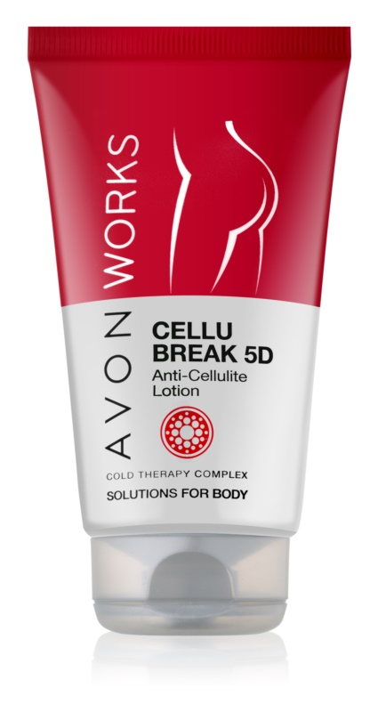 Avon Works lait corporel anti-cellulite