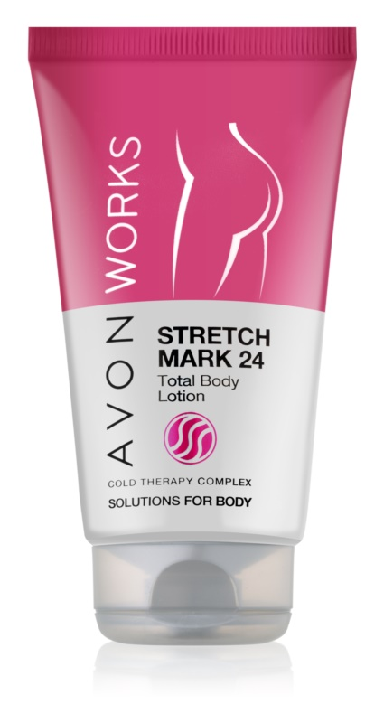 Avon Works Bodylotion to Treat Stretch Marks
