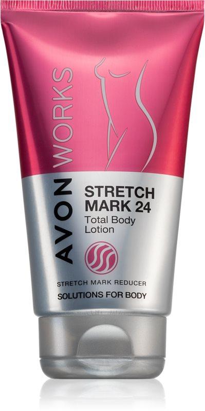 Avon Works lait corporel anti-vergetures