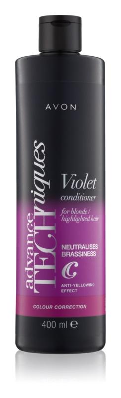 Avon Advance Techniques Colour Correction conditioner voor blond haar