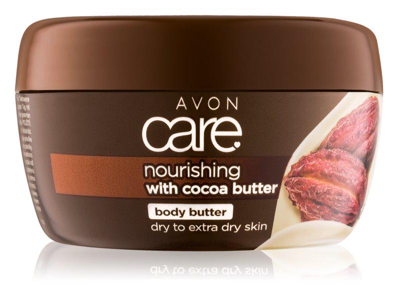 Avon Care crema de corp nutritiva cu unt de cacao
