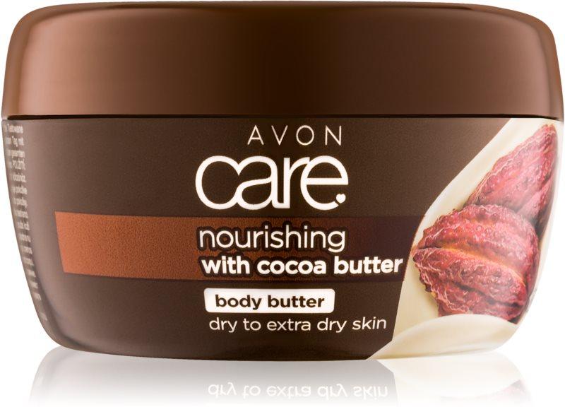 Avon Care crema nutriente corpo con burro di cacao
