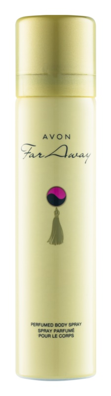 Avon Far Away spray corporel pour femme 75 ml