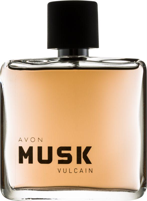 Avon Musk Vulcain Eau de Toilette voor Mannen 75 ml