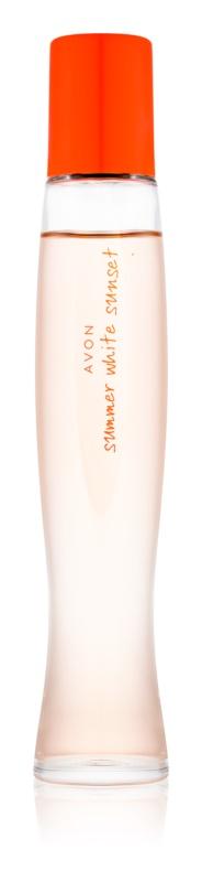 Avon Summer White Sunset eau de toilette para mujer 50 ml