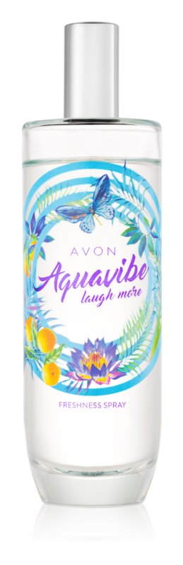 Avon Aquavibe Laugh More спрей для тіла для жінок 100 мл