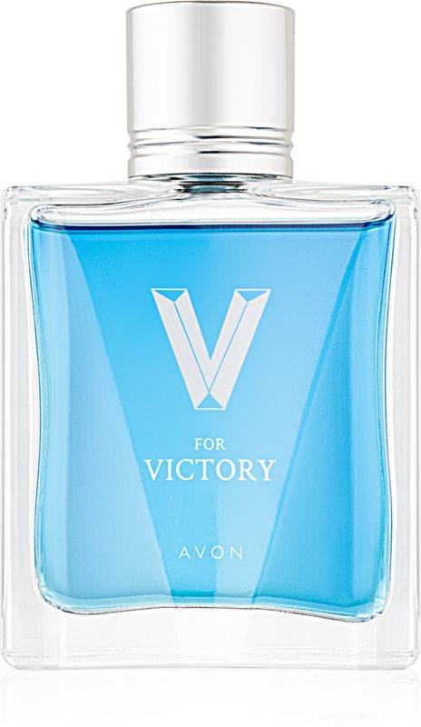 Avon V for Victory toaletní voda pro muže 75 ml