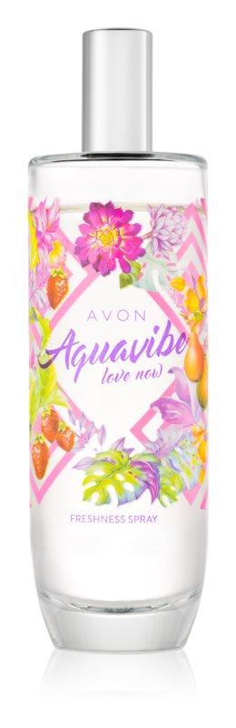 Avon Aquavibe Love Now Bodyspray  voor Vrouwen  100 ml