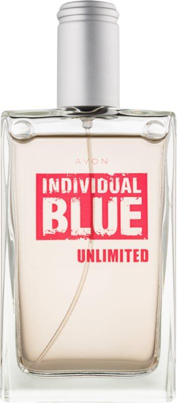 Avon Individual Blue Unlimited eau de toilette pentru barbati 100 ml