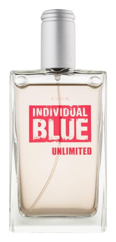 Avon Individual Blue Unlimited toaletní voda pro muže 100 ml