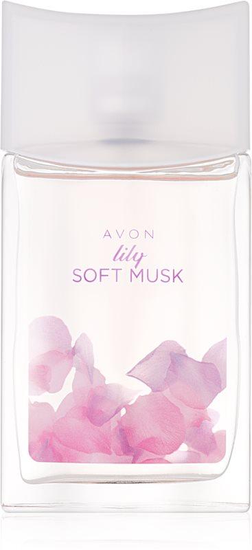 Avon Lily Soft Musk toaletná voda pre ženy 50 ml