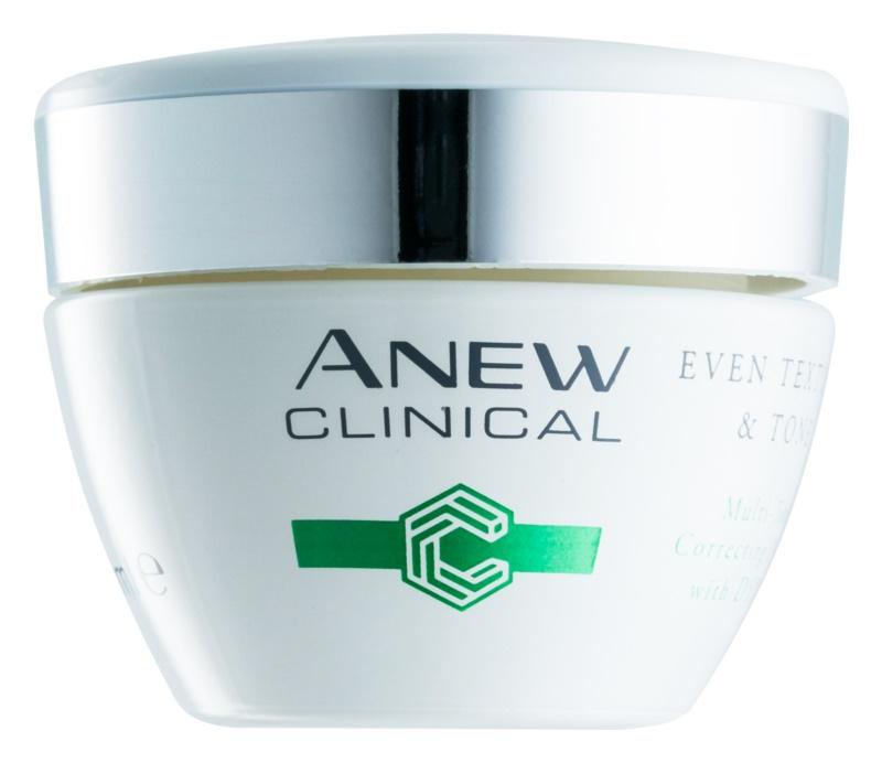 Avon Anew Clinical crema notte per unificare il tono della pelle