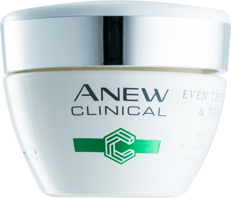 Avon Anew Clinical crème de nuit pour un teint unifié