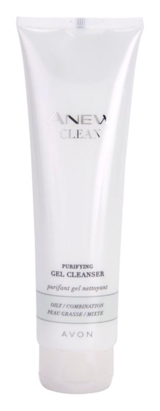 Avon Anew Clean gel nettoyant pour peaux grasses et mixtes