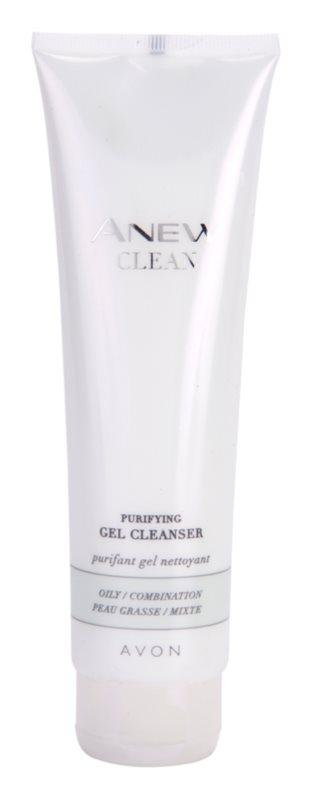 Avon Anew Clean tisztító gél kombinált és zsíros bőrre