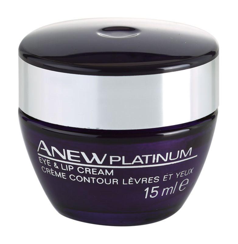 Avon Anew Platinum crema per il contorno occhi e le labbra